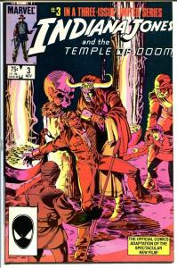 INDIANA JONES AND THE TEMPLE OF DOOM #3-MARVEL VF/NM