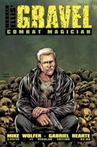 Gravel: Combat Magician #1, NM (Stock photo)