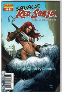 RED SONJA : Queen of the Frozen Wastes #3, NM, Frank Cho, more in store
