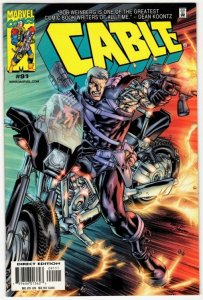 CABLE #91 (VF/NM) Marvel No Resv! 1¢ Auction!