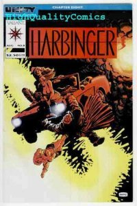 HARBINGER 8, VF, Valiant, ,1992, David Lapham, Frank Miller, more in store