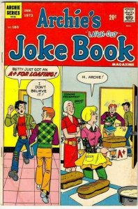 Archie's Joke Book # 180 Strict VG/FN+ Mid-Grade Cover Home Economics Class