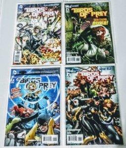 Birds of Prey #4, 6, 7, 8 Comic Book Lot of (4) High Grade Copies  B-5/12