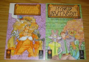 Hybrid Bastards! #1-2 VF/NM complete series - based on greek mythology - ZEUS!