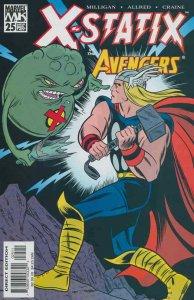 X-Statix #25 FN; Marvel | save on shipping - details inside