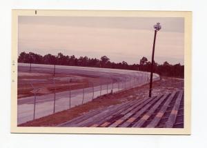 New Smyrna Speedway-Grandstands-First Turn-Winternationals-1973-VG