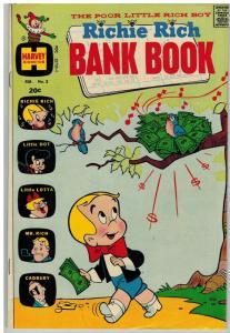 RICHIE RICH BANK BOOKS (1972-1982) 3 VG Feb. 1973