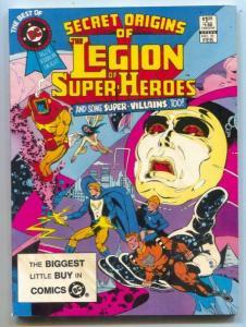 Best Of DC #33 1983- LEGION OF SUPER-HEROES ORIGINS -DC--- VF
