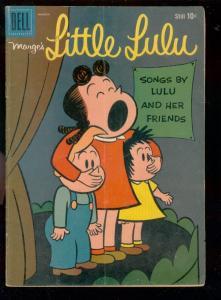 MARGE'S LITTLE LULU #129-1959-JOHN STANLEY ART-DELL COM VG