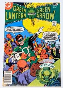 Green Lantern #107 (Aug 1978, DC) VF+ 8.5 1st Tales of Green Lantern Corps story