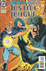 DC JUSTICE LEAGUE AMERICA (1987 Series) #82 VF