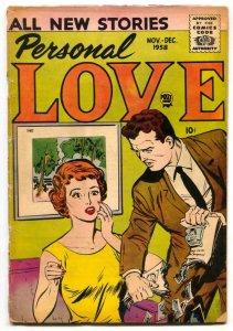 Personal Love Vol. 2 #2 1958- Romance comic- G