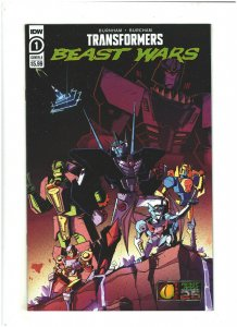 Transformers Beast Wars #1 NM- 9.2 IDW Comics Cover A 2021