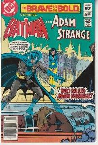 Brave and The Bold(vol. 1) #  190 Batman and Adam Strange