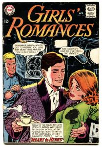 Girls' Romances #100 1964-DC comics-actor movie set cover vg-