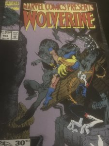 Marvel Comics Presents Wolverine #103 /Ghost Rider Mint