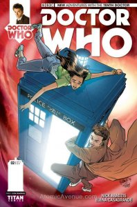 Doctor Who: The Tenth Doctor #2B VF/NM; Titan | save on shipping - details insid