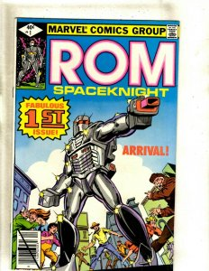 ROM # 1 NM Marvel Comic Book X-Men Spider-Man Avengers Defenders Robot HJ9