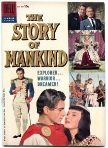 Story of Mankind- Four Color Comics #851 1958- Dell Movie edition VG/F