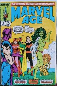 Marvel Age #70 (1989) SHE-HULK
