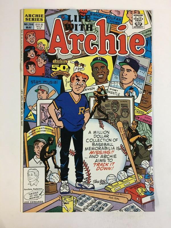 LIFE WITH ARCHIE (1958-    )284 VF-NM May 1991 COMICS BOOK