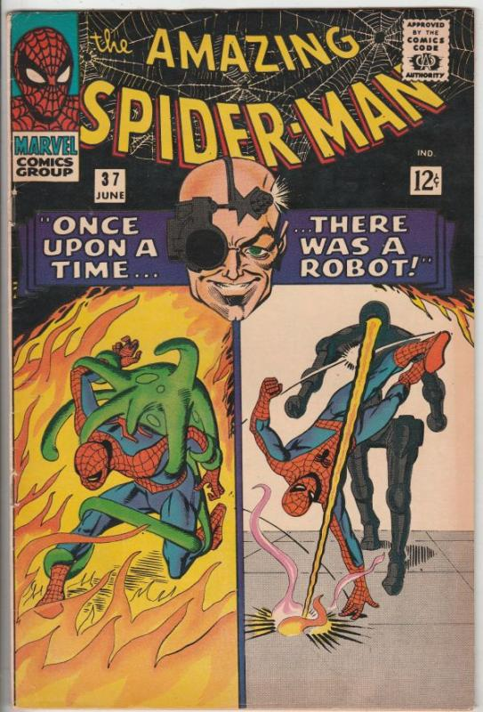 Amazing Spider-Man #37 (Jun-66) VF High-Grade Spider-Man