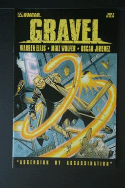 Gravel #4 by Warren Ellis Avatar Comics August 2009