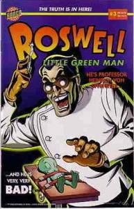 Roswell: Little Green Man #3 FN; Bongo | save on shipping - details inside