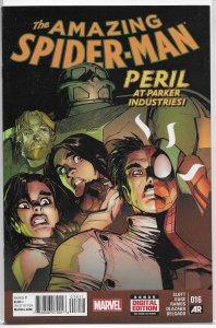 Amazing Spider-Man (vol. 3, 2014) #16 VF/NM Slott/Gage/Ramos, Lizard