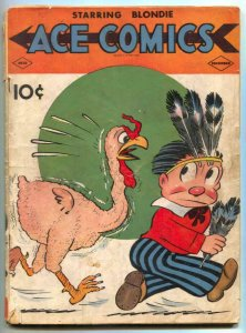 Ace Comics #33 1939- Phantom- Jungle Jim POOR