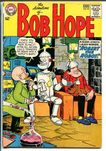 Adventures of Bob Hope #90 1964-DC Comics-Robot-white pages-VG