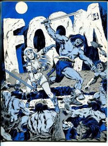 FOOM #14 1976-Marvel-Conan cover-Roy Thomas-Red Sonja-King Kull-fanzine-VF