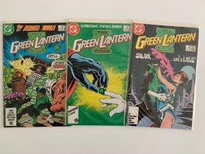 Lot of 9 Green Lantern Corps Comics FN-VF+ Condition  DC Comics