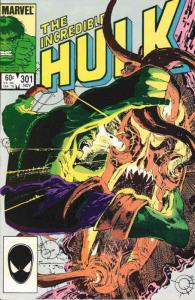 Incredible Hulk, The #301 VF/NM; Marvel | save on shipping - details inside