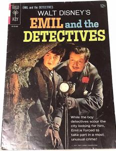 EMIL & THE DETECTIVES VERY GOOD 1964 GOLD KEY COMICS PHOTO COVER