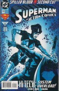DC ACTION COMICS (1938 Series) #694 FN+