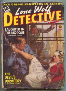 Lone Wolf Detective Pulp June 1940- Devil's Dormitory G-