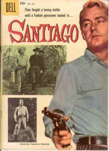 SANTIAGO (1956) F.C. 723 FINE KINSTLER; ALAN LADD P/C COMICS BOOK