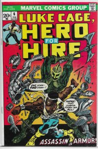 Hero for Hire   vol. 1   # 6 VG/FN Luke Cage