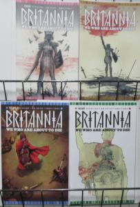 BRITANNIA: WE WHO ARE ABOUT TO DIE (2017, VALIANT) #1-4 COMPLETE! VF-NM