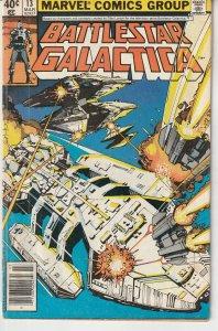 Battlestar Galactica(Marvel) # 13  Last Stand for Galactica ?