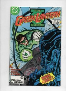 GREEN LANTERN #216, NM-,  Duel in the Sky, Corps, DC, 1960 1987 more in store