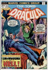 TOMB of DRACULA #19, FN, Vampire , Blade immune to, 1972, more ToD in store