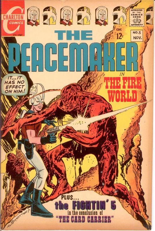 PEACEMAKER (1967 CH) 5 FINE Nov. 1967 COMICS BOOK