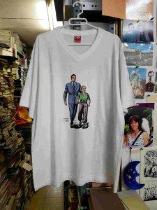 Camiseta blanca de Roberto Alcazar y Pedrin, talla XXL