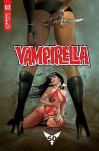 VAMPIRELLA (2019 DYNAMITE) #3 VARIANT CVR D GUNDUZ PRESALE-09/18
