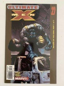 Ultimate X-Men #26 Return of the King Part 1 of 7  (2001 Marvel Comics) NM