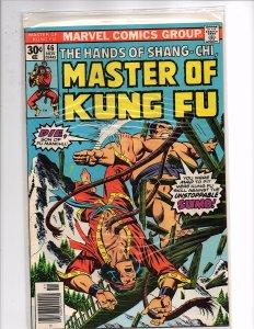 Marvel Comics (1974) Master of Kung Fu #46 Paul Gulacy Art