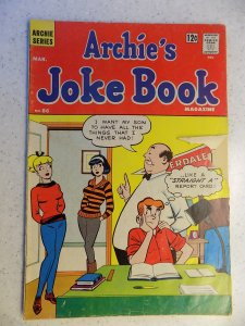 ARCHIE'S JOKE BOOK # 86 ARCHIE JUGHEAD VERONICA BETTY RIVERDALE CARTOON