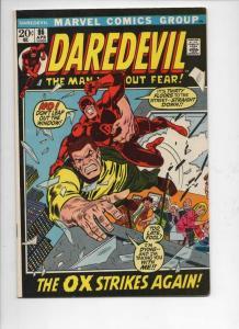 DAREDEVIL #86 FN, Gene Colan, Murdock, The Ox, 1964 1972, more Marvel in store
